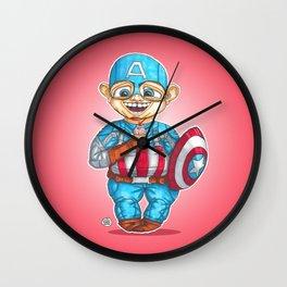 Cap off duty Wall Clock