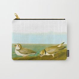 Piping Plover Bird Carry-All Pouch