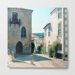 Obidos, Portugal(RR178) Analog 6x6 Kodal Ektar 100 Metal Print