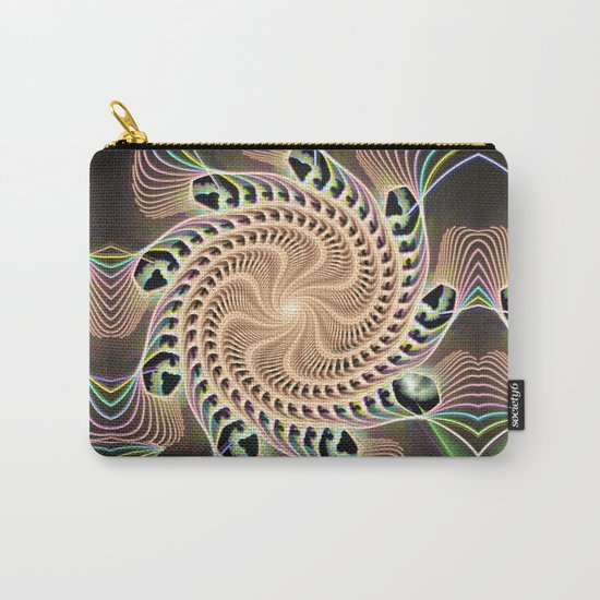 Groovy Vortex Abstract Carry-All Pouch