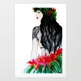 Polynesia Art Print
