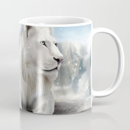 White Lion Coffee Mug