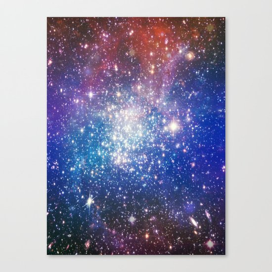 Shining stars Canvas Print