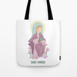Saint Monica of Hippo Tote Bag