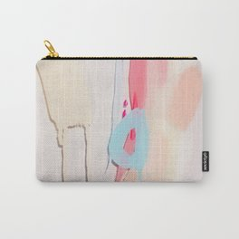 Even After All  #2 - Abstract on perspex by Jen Sievers Carry-All Pouch