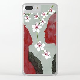 cherry blossom girls Clear iPhone Case