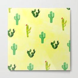 Cactus Madness Metal Print