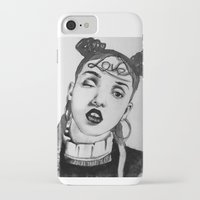 fka twigs iPhone & iPod Cases featuring FKA Twigs  by Lacsid