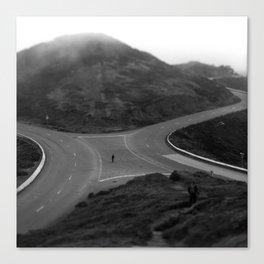 Twin Peaks // Run Canvas Print