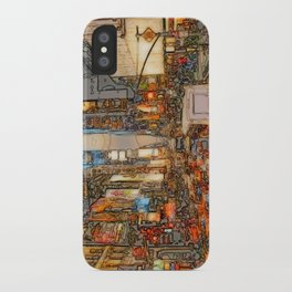 Busy Sunset iPhone Case