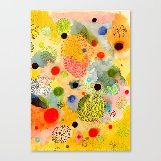 Youth Energy Canvas Print