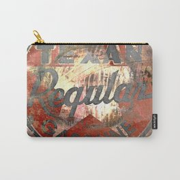 Texan - Vintage Label Carry-All Pouch