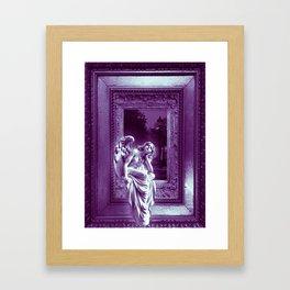 Angel of Bristol (Purple) Framed Art Print
