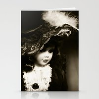 doll Stationery Cards featuring Doll by J.Telle