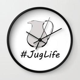 #JugLife Wall Clock