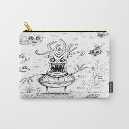Happy Squid Boy and Friends sketch Carry-All Pouch