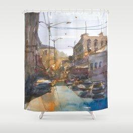 Urban Street Shower Curtain