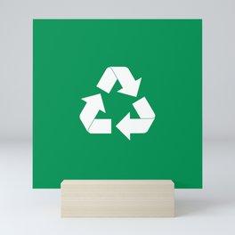 Recycling Mini Art Print
