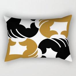 Brown supports Black Lives Matter Rectangular Pillow