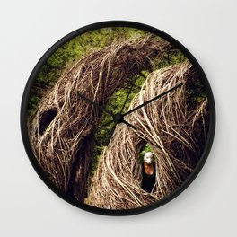 Among the Hidden Wall Clock