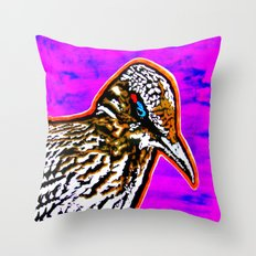 Pop Art Roadrunner No. 1 Throw Pillow