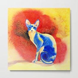 Sphynx Cat #3 Metal Print