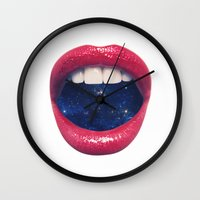xbox Wall Clocks featuring A Taste of Space by Zavu