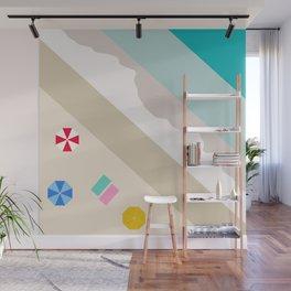 Summer Getaway Abstract Wall Mural