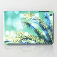 palm tree iPad Cases featuring palm by laika in cosmos