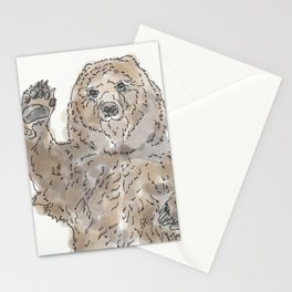 hey bear Stationery Cards