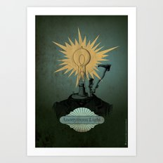 Anonymous Light Art Print