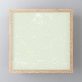 Misty Mint Framed Mini Art Print