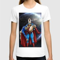 supergirl T-shirts featuring The death of Supergirl by Bungle