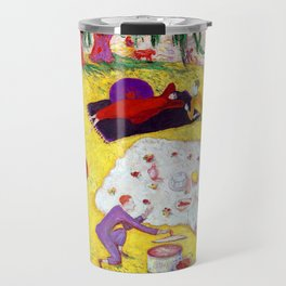 Florine Stettheimer Picnic at Bedford Hills Travel Mug
