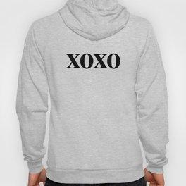 Black XOXO Hoody