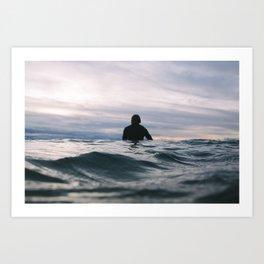 ocean Surf V Art Print