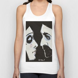 Two People Unisex Tank Top
