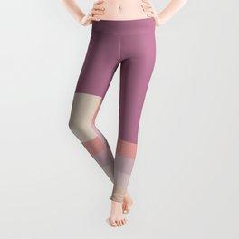 Lilac Rainbow Dipper Leggings