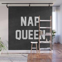Nap Queen Wall Mural