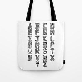 A-Z Alphabet Tote Bag