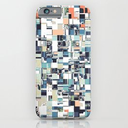 Abstract Jumbled Mosaic iPhone Case