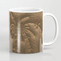 renaissance Mugs featuring Renaissance Brown by Charma Rose