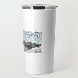 'JaPow' by Sarah King  Travel Mug