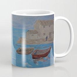 Boat Coming Home Coffee Mug