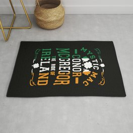Conor McGregor Mystic Mac Rug