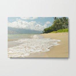 maui beach Metal Print