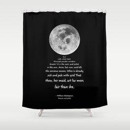 Moon Bridge Shakespeare Shower Curtain