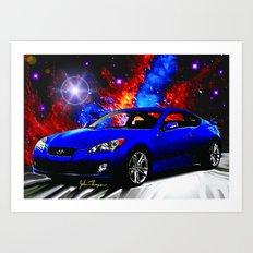 Hyundai Genesis Coupe 2 Art Print