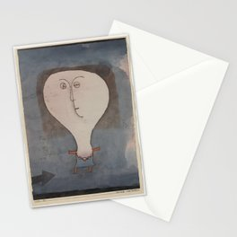 Paul Klee - Fright of a Girl Stationery Cards