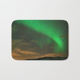 Northern Lights over Norway: Part 2 Bath Mat
